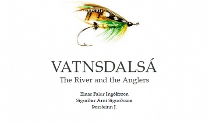 Order your copy of a great book about Vatnsdalsa, one of Icelands great rivers...