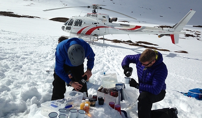 The Eleven Experience & Heli-Skiing in Iceland